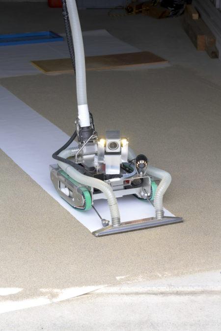 中里建設㈱が保有する水中調査清掃ロボット『CUV-40』_4