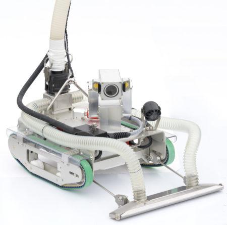 中里建設㈱が保有する水中調査清掃ロボット『CUV-40』_2