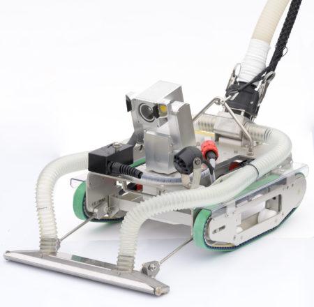 中里建設㈱が保有する水中調査清掃ロボット『CUV-40』_1